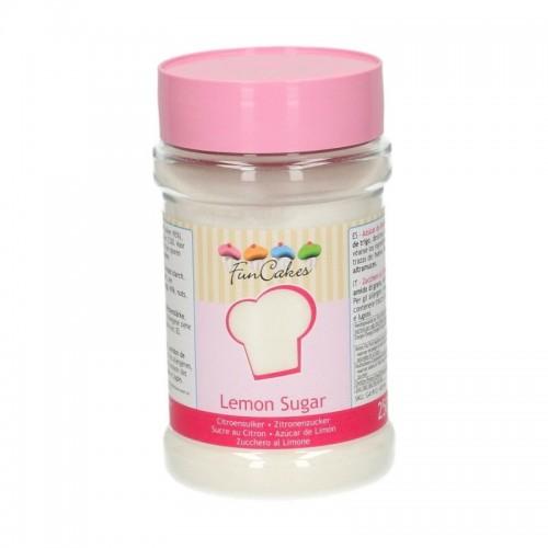 FunCakes lemon sugar - citronový cukr - 250g